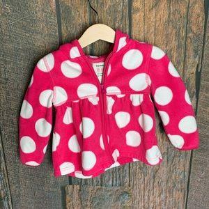Fleece Zip Up Sweatshirt